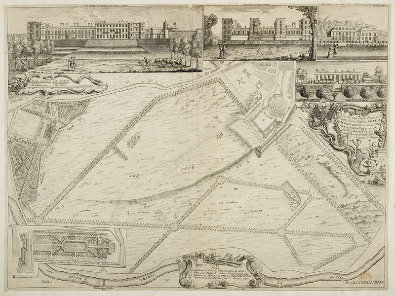 Plan of Windsor Park by JRocque