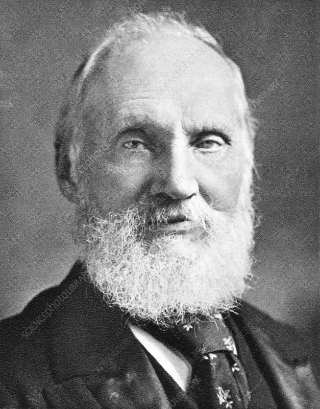 Lord Kelvin, British physicist