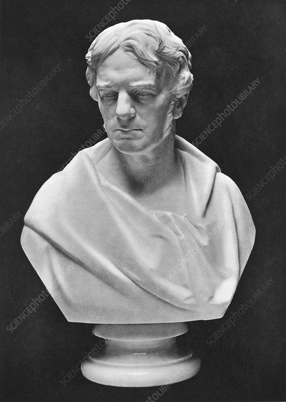 Michael Faraday bust, 1910s