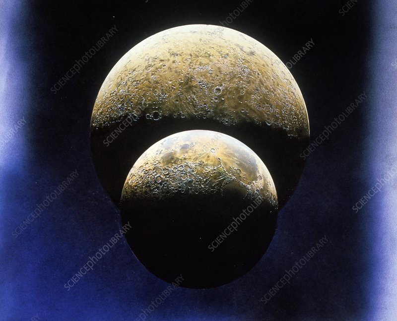 The Moon and Mercury, artwork