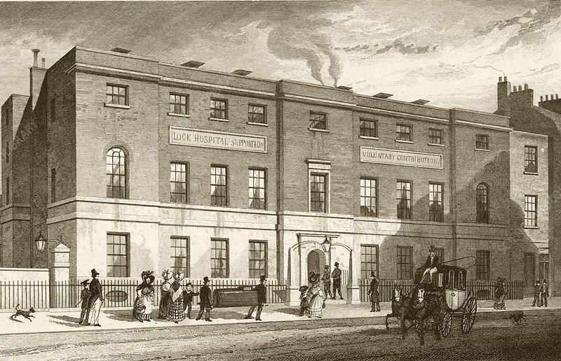 First venereal disease clinic, London