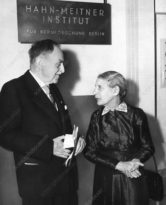 Otto Hahn and Lise Meitner, 1959