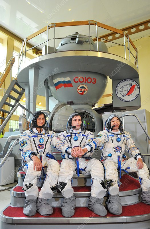Soyuz TMA-05M astronauts