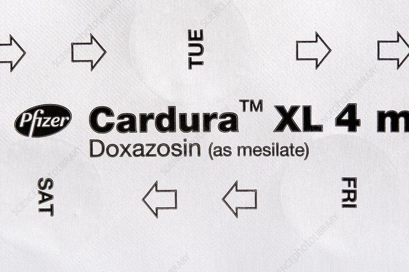 Cardura hypertension drug
