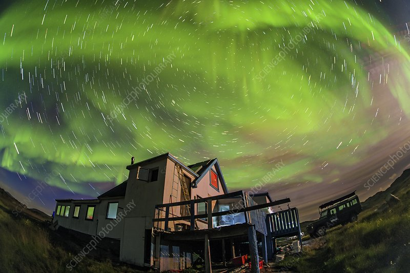 Auroral display, Greenland