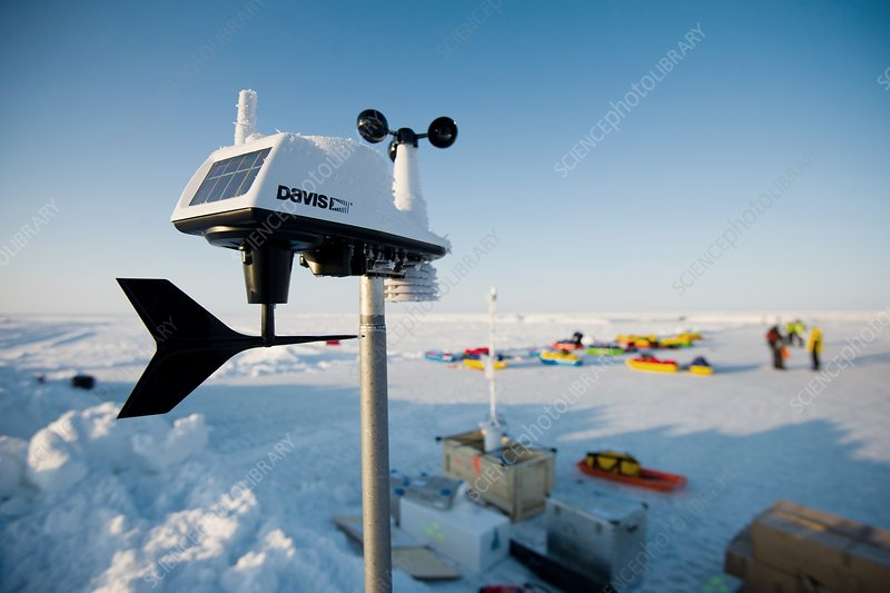 Weather station, North Pole