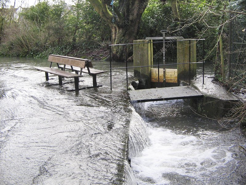 Flooded Sluice Gate