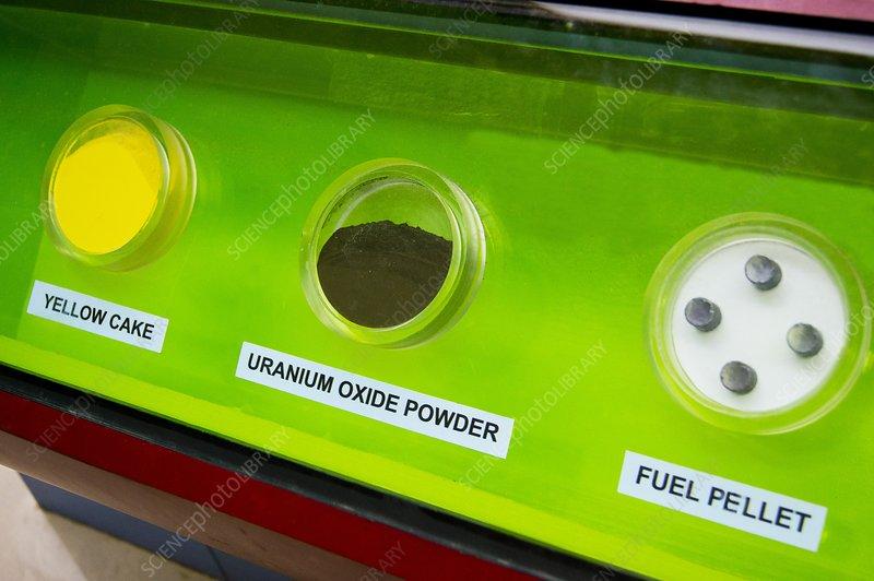 Uranium fuel preparation