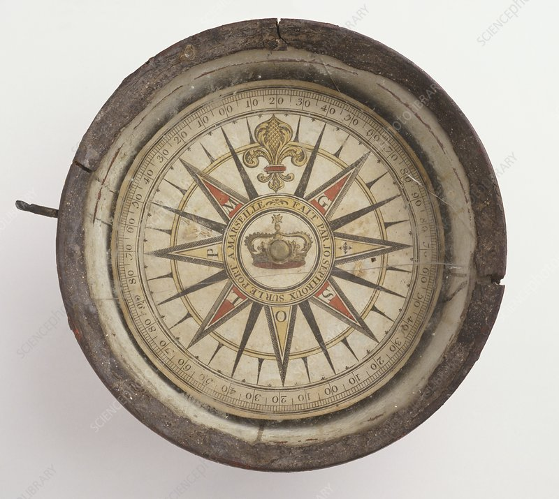 Early mariners compass