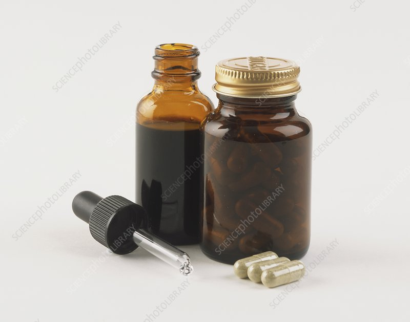 Two bottles containing Echinacea
