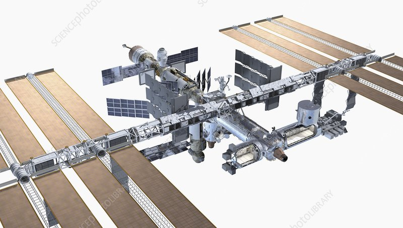 The International Space station, close-up