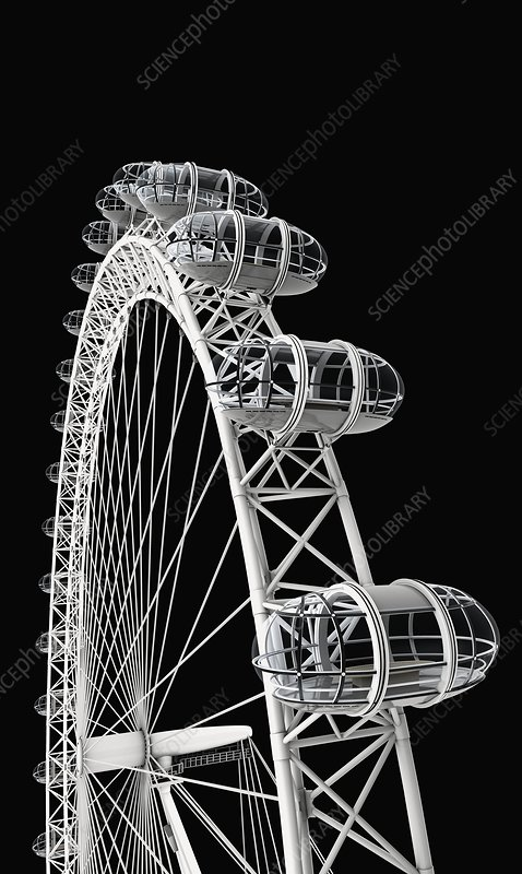 London Eye, close-up