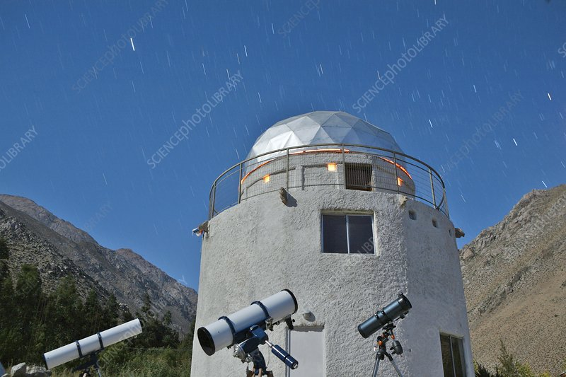 Concana Observatory in the Elqui Valley
