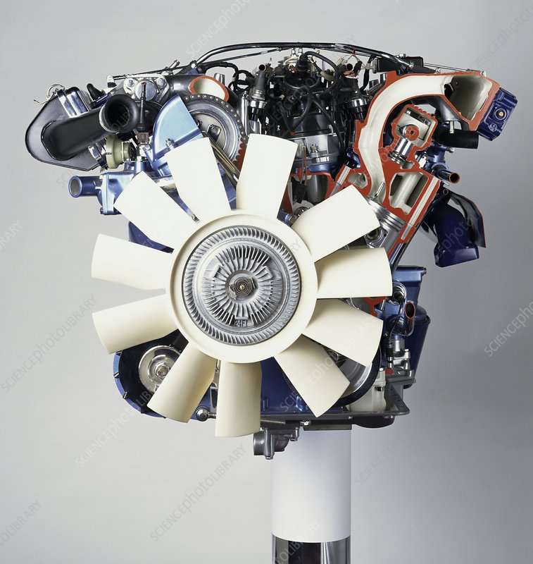 V12 petrol engine