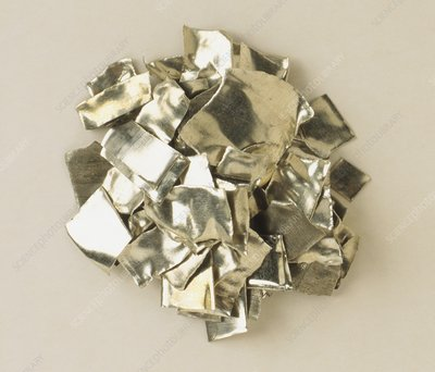Sample of Tin Metal