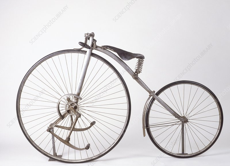 Model of geared 'Facile' bicycle