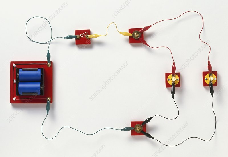 Electric circuit split into branches