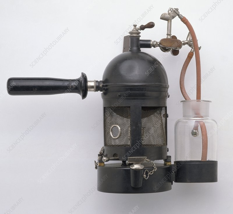 Late 19th century Carbolic Steam Spray