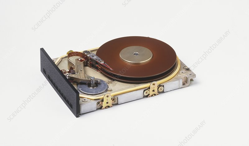 Hard disc from a computer