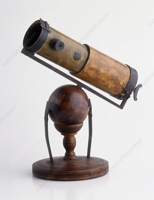 Replica of Newton's telescope