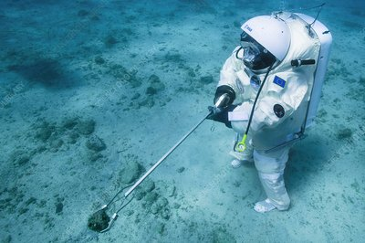 ESA underwater astronaut training