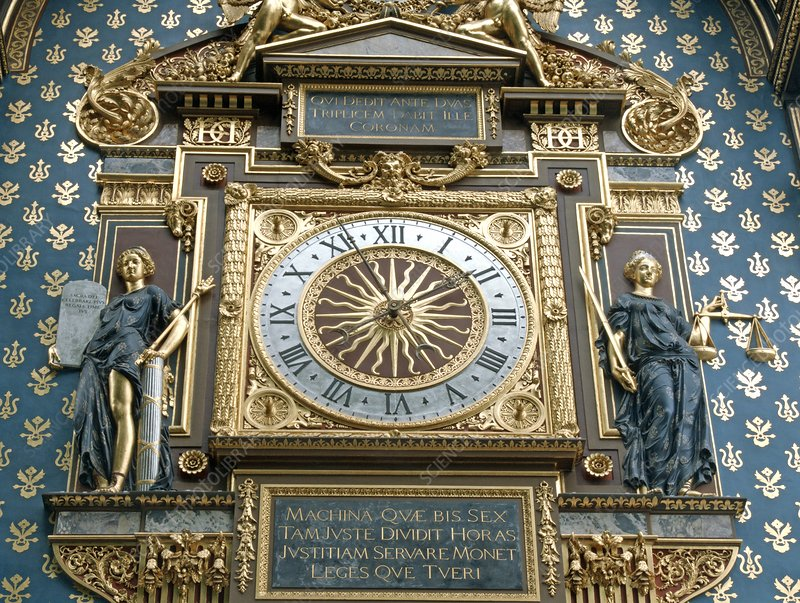 Palace of Justice clock, Paris