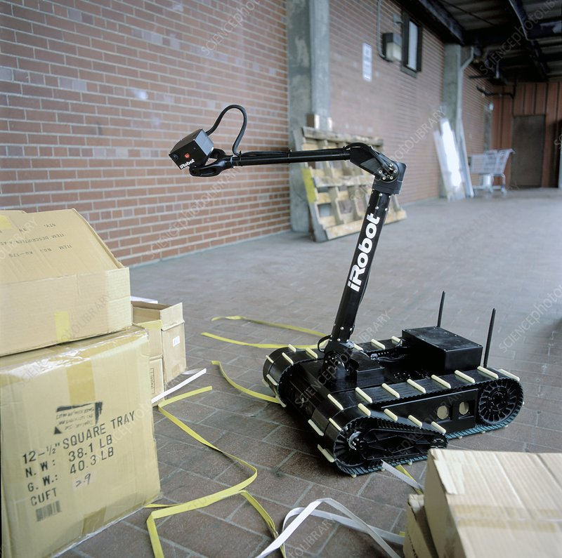 PackBot military robot