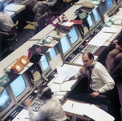 ASTP mission control, 1975