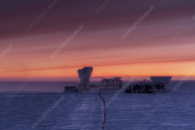Dark Sector Lab telescopes, South Pole