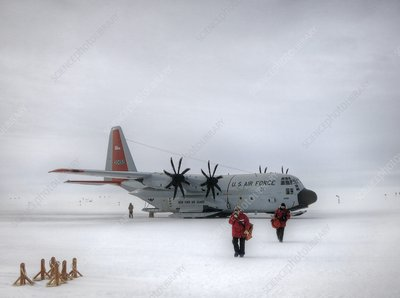 Arrival at South Pole research station