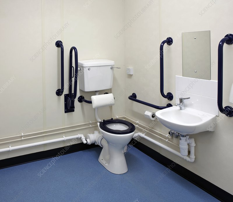 Disabled washroom and lavatory