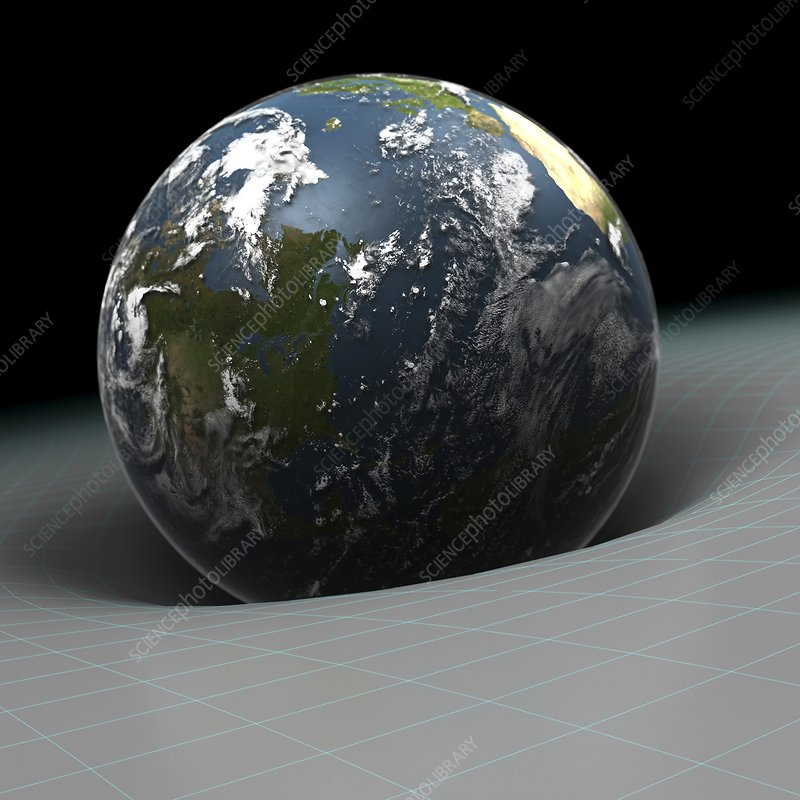 Earth S Gravity Artwork Stock Image C020 2421 Science