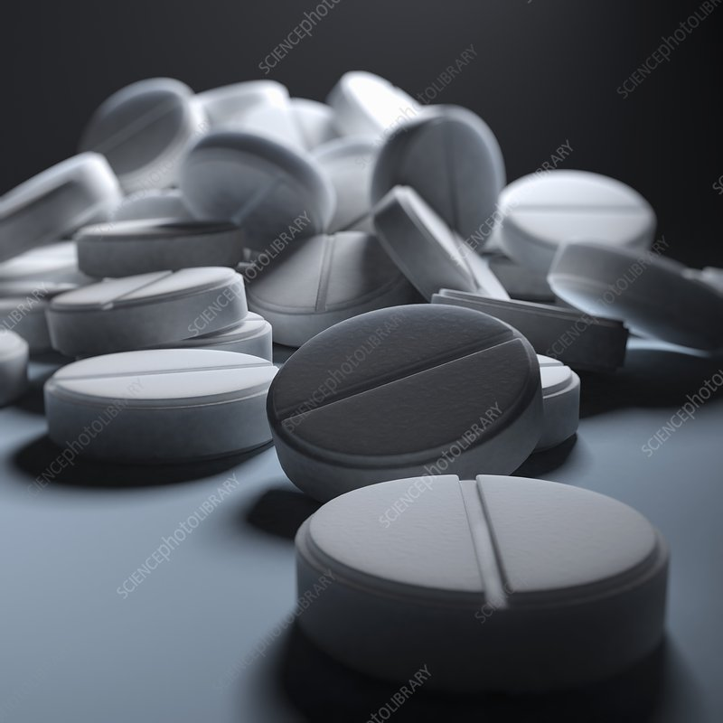 Aspirin Tablets, artwork