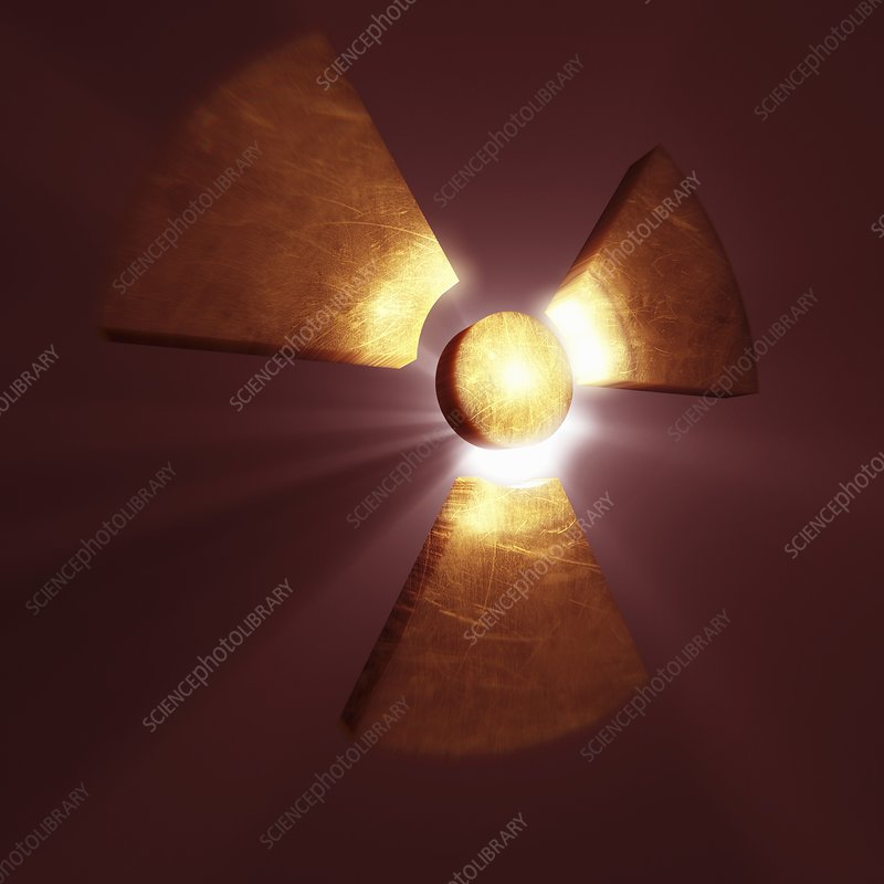Radioactive Symbol, artwork