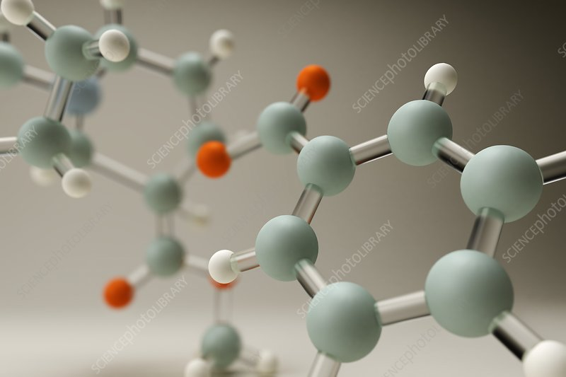 Cocaine Molecule, artwork