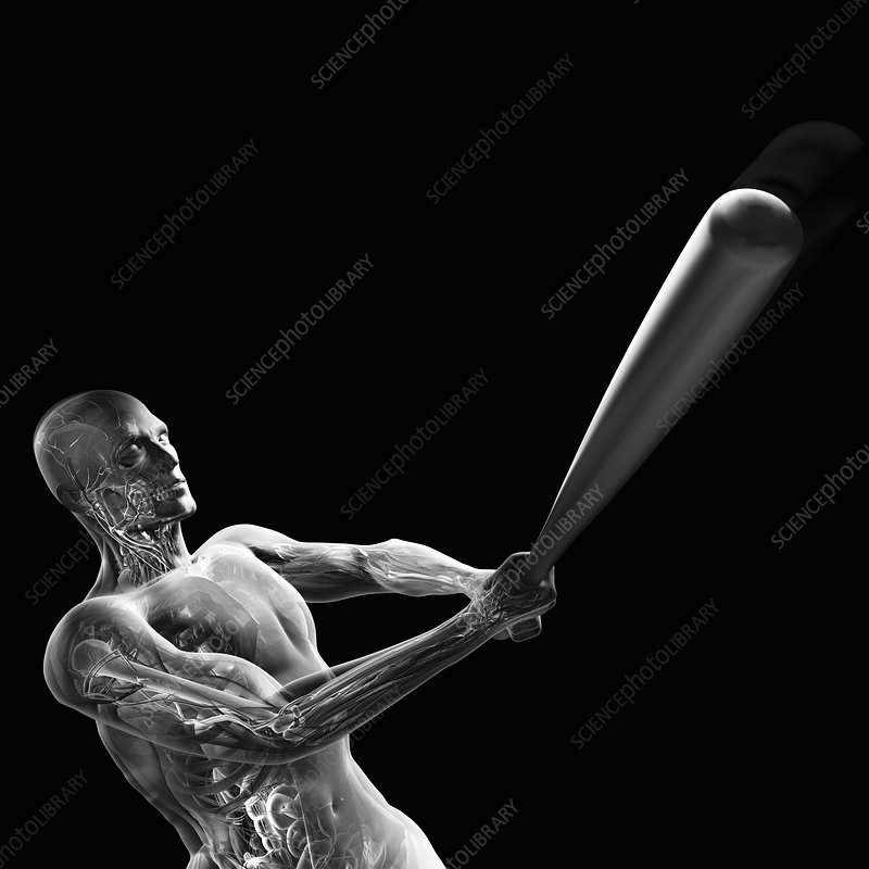 Baseball Swing, artwork