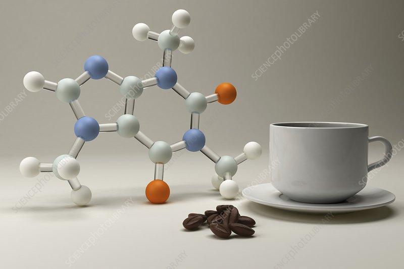 Caffeine, artwork