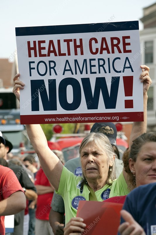 Healthcare reform campaign, USA
