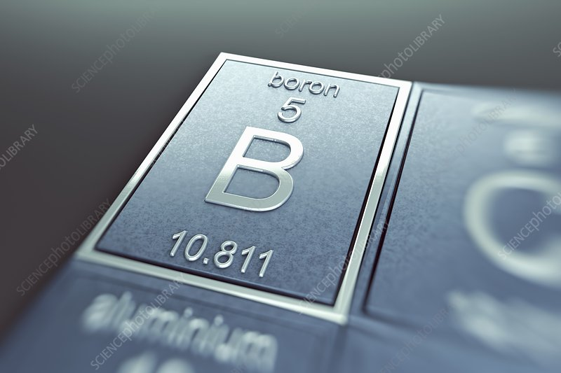 Boron, artwork