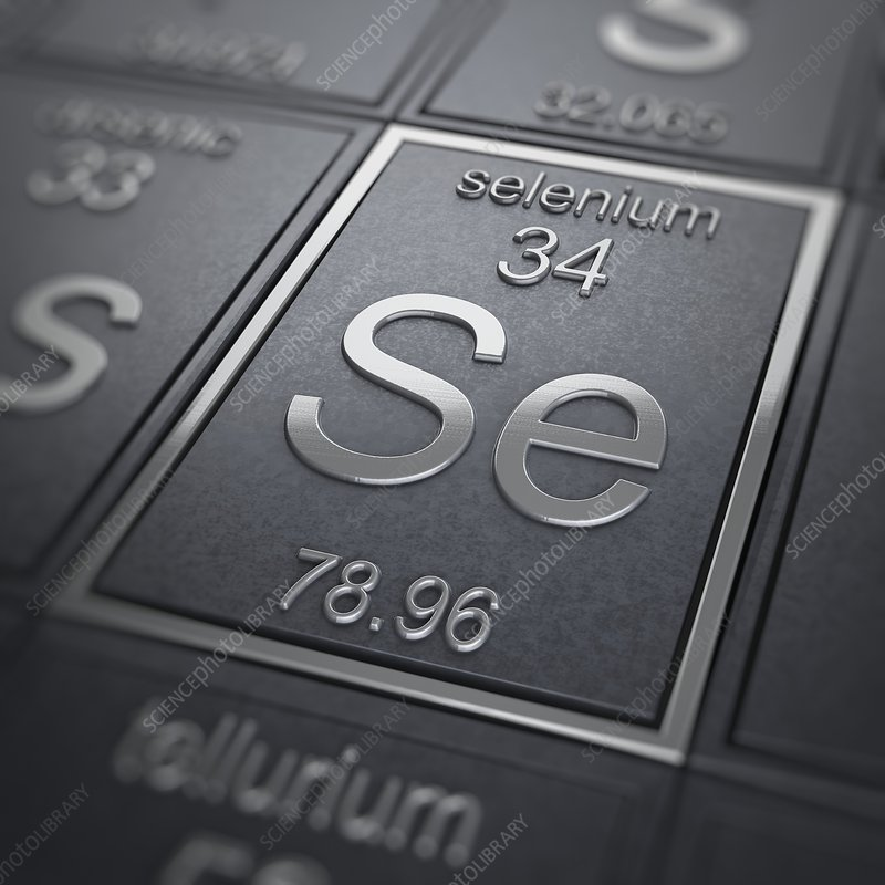 Selenium, artwork