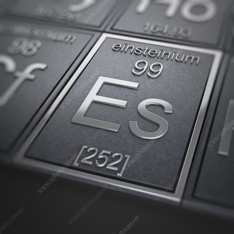 Einsteinium, artwork