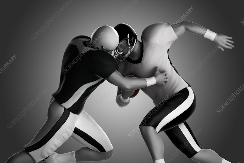 Football Collision, artwork