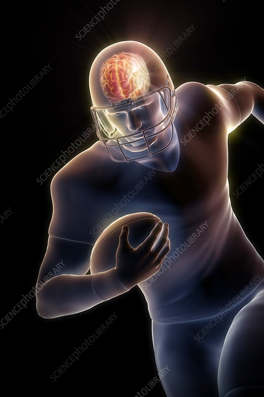 American Football Player, artwork