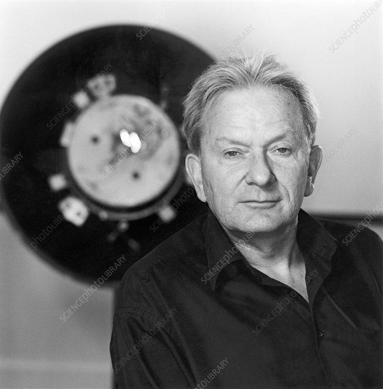 John Zarnecki, British space scientist - Stock Image C020 ...