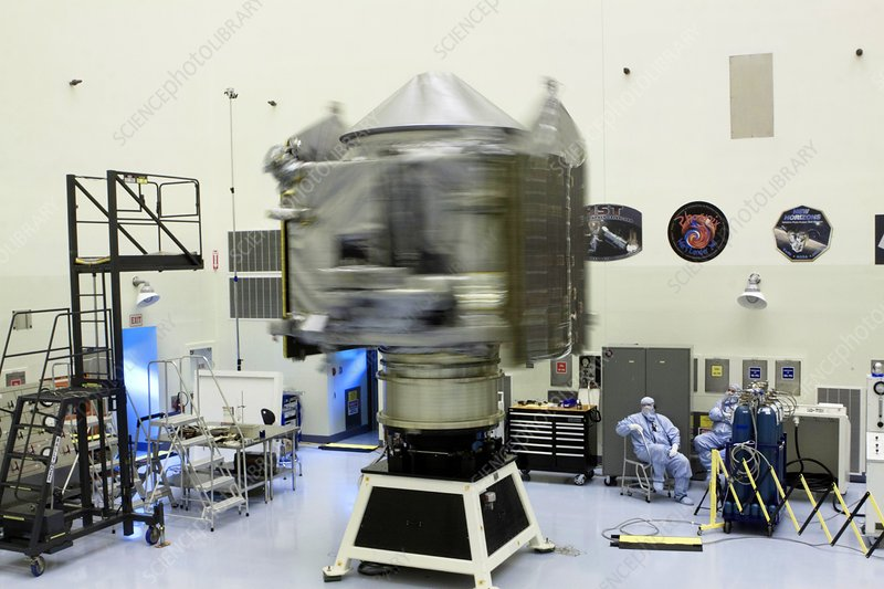 Spin test of the MAVEN spacecraft