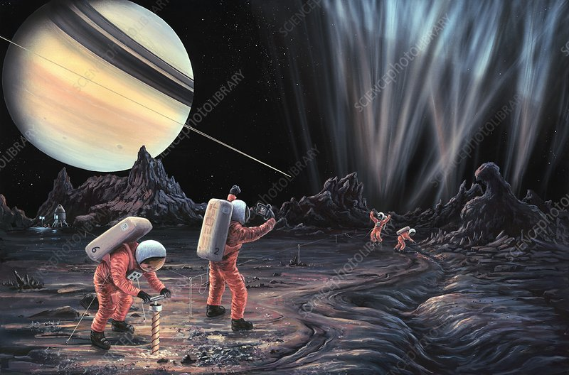 Expedition to Enceladus, artwork