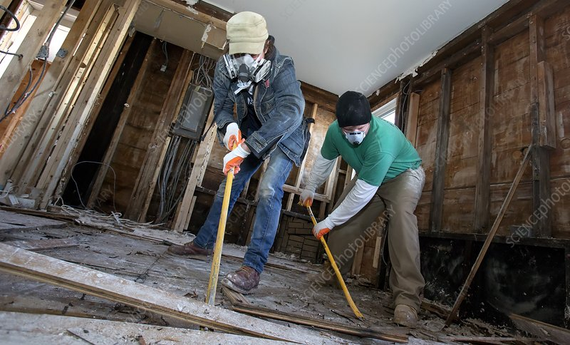 Repairing Hurricane Sandy damage