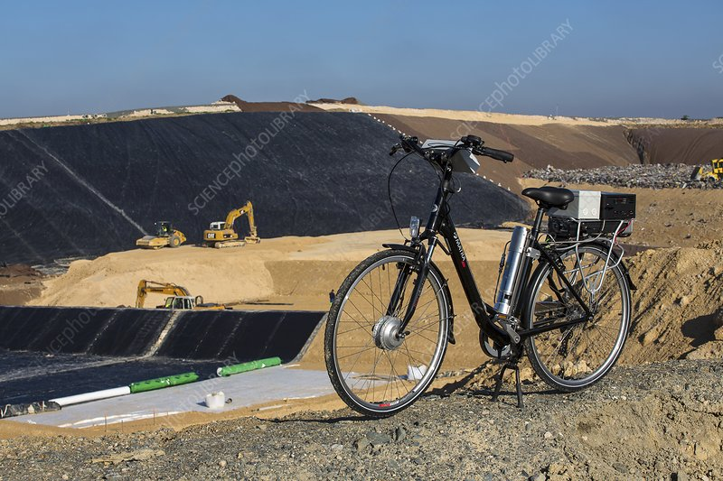 Hydrogen-powered bicycle