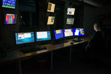 Control room at EISCAT, Svalbard, Norway