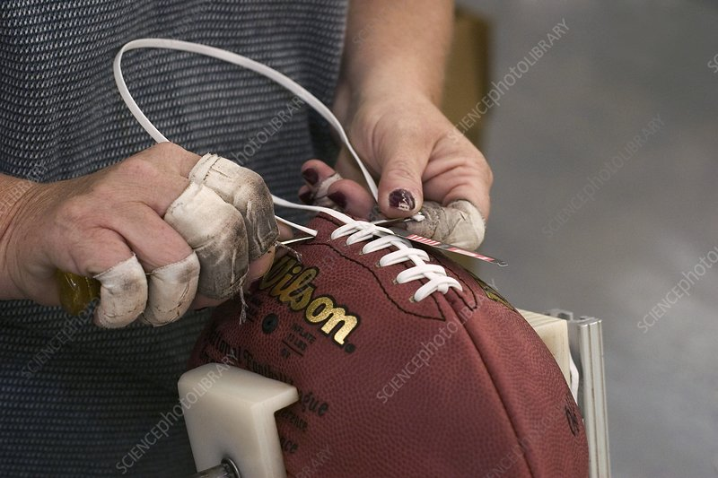 American football manufacturing